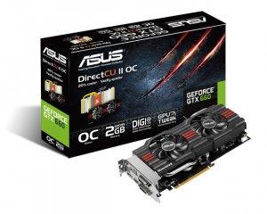 Asus GTX660-DC2O-2GD5 NVIDIA GeForce GTX660 2048 MB -näytönohjain PCI-e-väylään