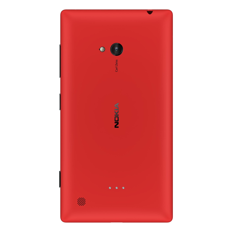 Nokia Lumia 720 Windows Phone -puhelin, punainen | Tulossa | Puhelimet | Verkkokauppa.com