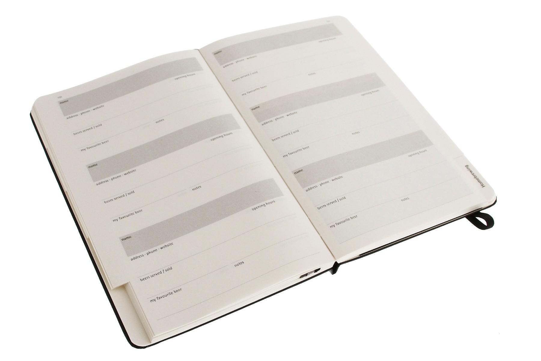moleskine book journal template - moleskine beer journal muistikirjat vihkot ja