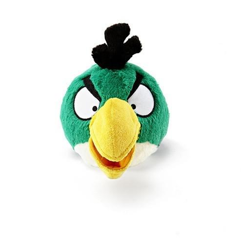 Angry Birds - Green Bird pehmolelu 12,5 cm, väri vihreä   Nuket ja pehmolelut   Lelut ...