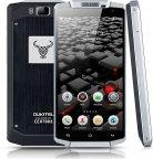 Oukitel K10000 Android-älypuhelin Dual-SIM, hopea