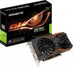 Gigabyte GeForce GTX 1050Ti GV-N105TG1 GAMING-4G 4096 Mt -näytönohjain PCI-e-väylään