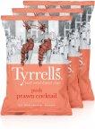 Tyrrells Posh Prawn Cocktail -perunalastut, 3 x 150 g