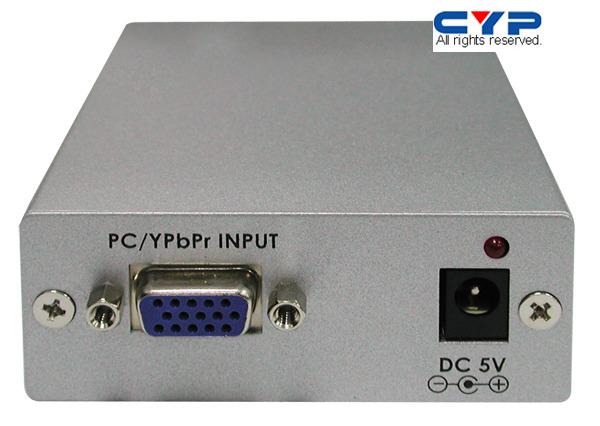 Cypress CP-1261D PC/HD to DVI Format Converter - VGA/DVI-muunnin – VGA – Videosignaalinkäsittely ...